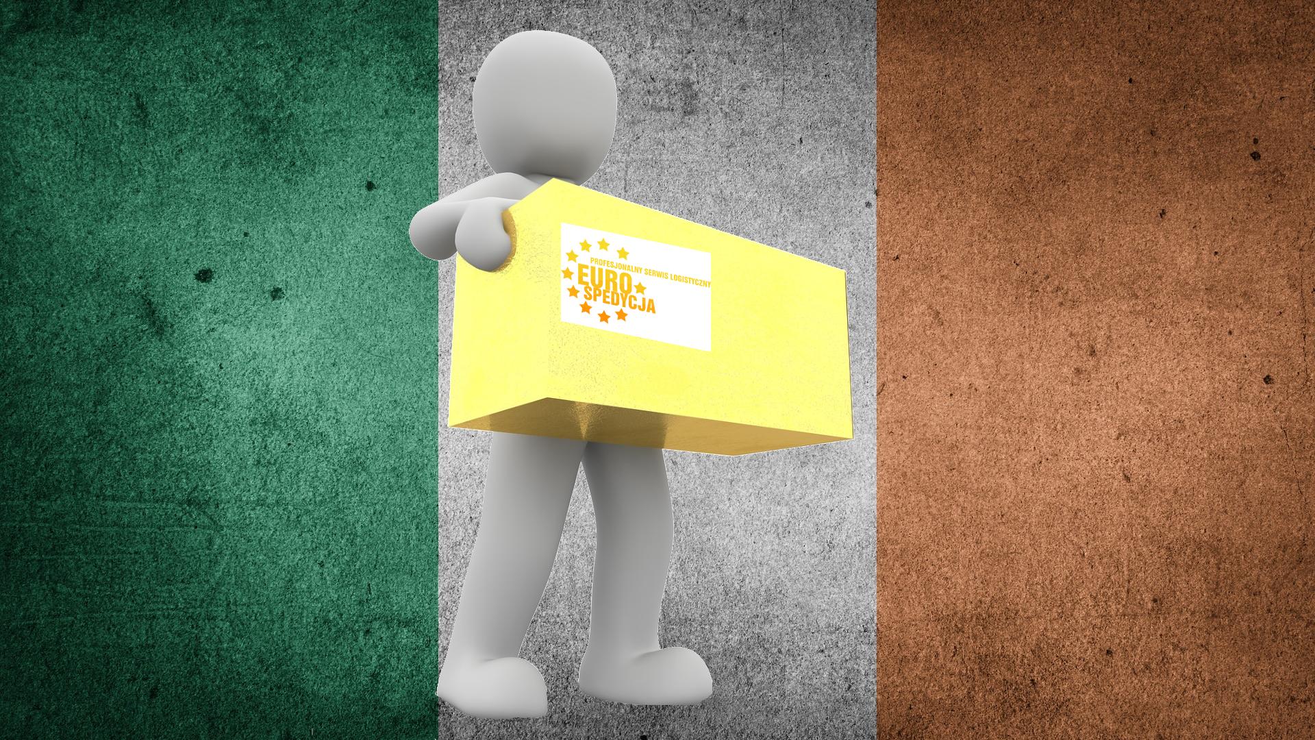 przesyłki kurierskie z Irlandii